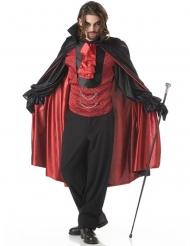 Disfarce príncipe das trevas vampiro homem