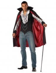 Disfarce vampiro elegante homem Halloween