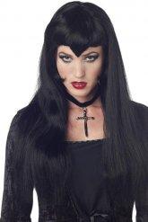 Peruca vampira gótica mulher