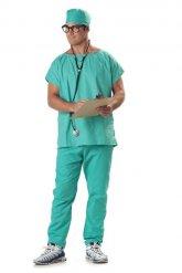 Disfarce cirurgião adulto