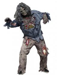 Disfarce zombie assustador homem Halloween