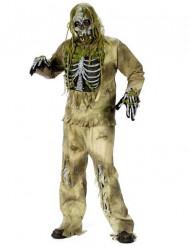 Disfarce corpo fossilizado Halloween adulto
