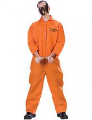 Disfarce de prisioneiro canibal homem Halloween