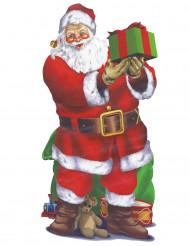 Decoração Pai Natal 165 x 85 cm