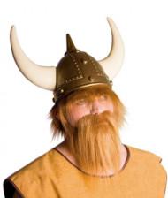 Barba viking castanha clara