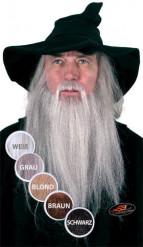 Barba comprida de bruxo luxo