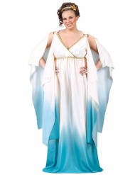 Disfarce greco-romano mulher tamanho grande