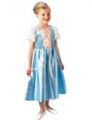Disfarce princesa azul e branco menina
