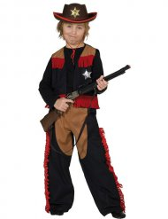Disfarce cowboy criança