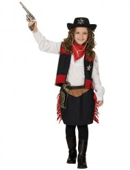 Disfarce cowgirl faroeste menina