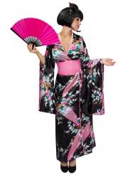 Disfarce kimono japonês mulher