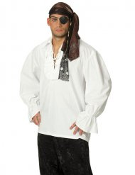 Camiseta pirata branca - homem