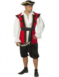 Disfarce pirata nobre - homem