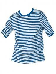 T-shirt marinheiro às riscas adulto