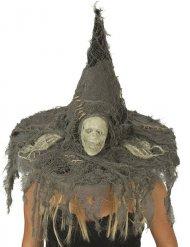 Chapéu de bruxa crânio