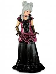 Disfarce barroco lilás e preto mulher