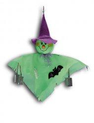 Decoração para pendurar fantasma verde
