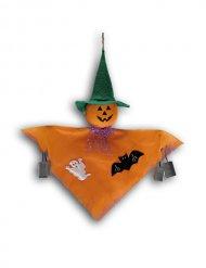 Decoração para pendurar fantasma abóbora Halloween