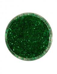 Caixa de brilhantes verdes 2 gr