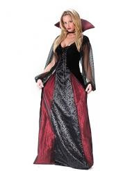 Disfarce vampira gótica mulher