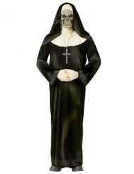Disfarce freira zombie adulto