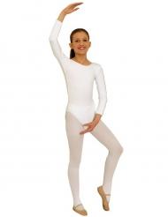 Body mangas compridas branco criança