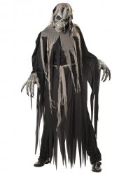 Disfarce zombie caveira homem Halloween