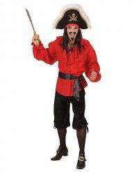 Bermuda preta de pirata - homem