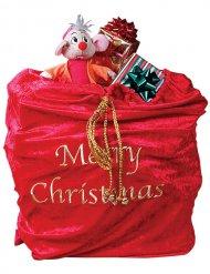 Saco vermelho de Pai Natal
