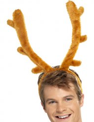 Bandolete rena em pelúcia adulto Natal