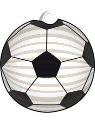 Lanterna futebol branca e preta