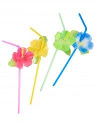 6 Palhinhas flores Havaí