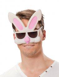 Óculos humorísticos de coelho adulto