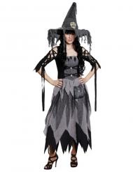 Vestido de bruxa clássico Halloween