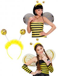 Bandolete abelha com pele sintética adulto