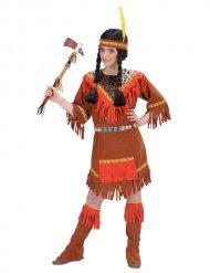 Disfarce índia colorida menina