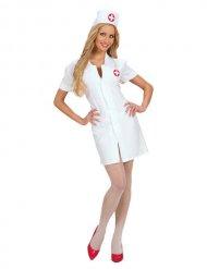 Disfarce enfermeira vestido curto sexy mulher