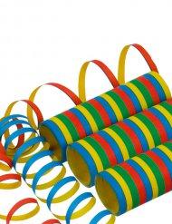 1 Rolo de serpentinas coloridas 400 x 0.7 cm