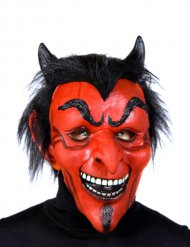 Máscara de diabo em látex Halloween