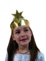 Bandolete dourada com estrela criança