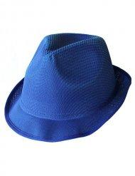 Chapéu Trilby azul