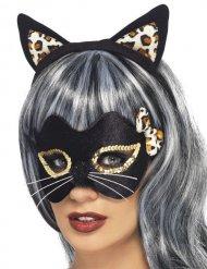 Kit gato leopardo mulher