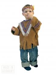 Disfarce índio criança