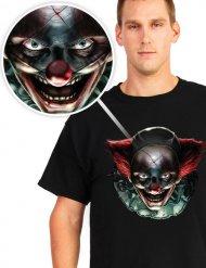 T-shirt palhaço assassino Halloween
