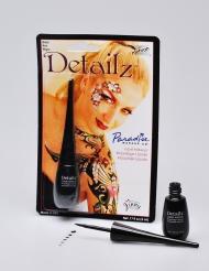 Maquilhagem líquida profissional preta Mehron™