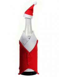 Decoração de Natal para garrafa 24 cm