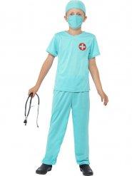 Disfarce cirurgião criança