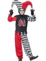 Disfarce joker terrível criança Halloween