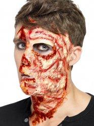 Cicatriz de queimaduras látex Halloween
