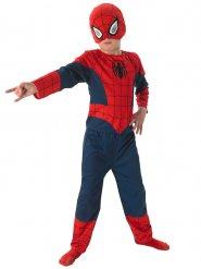 Disfarce Spiderman™ criança azul